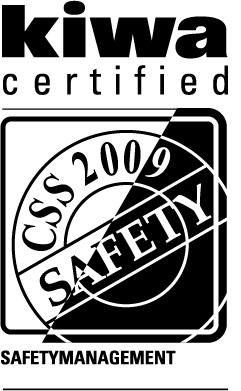 Kiwa safety certified pictogram